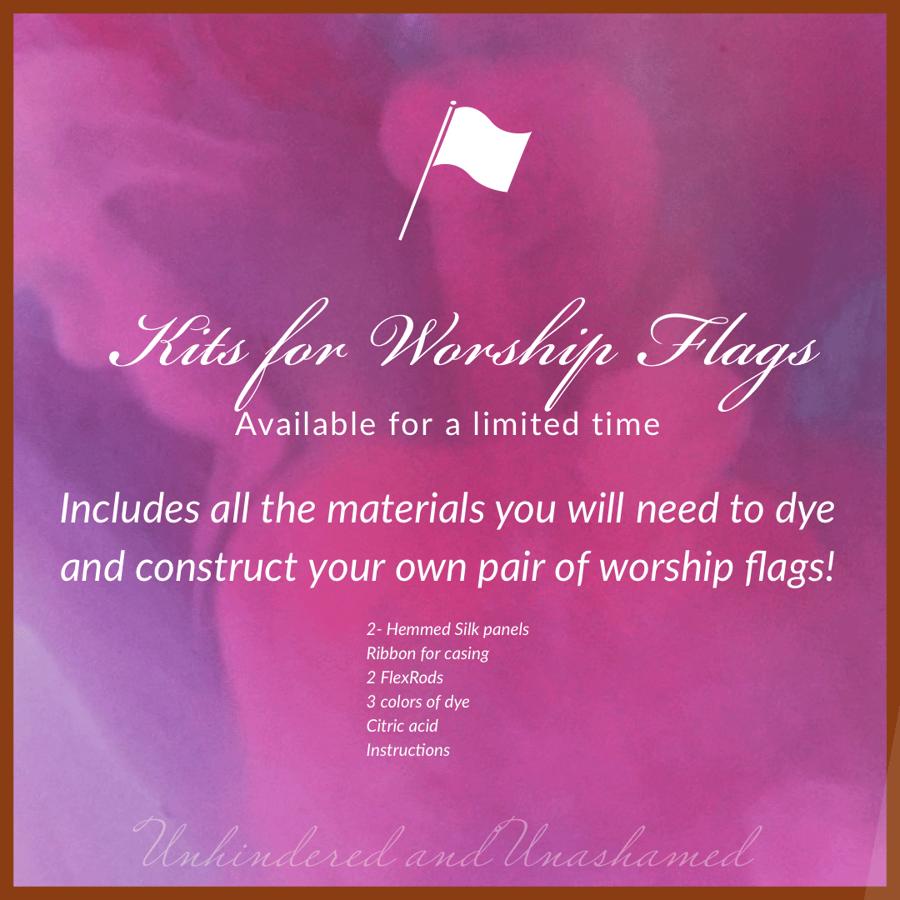 Image of Worship Flag Kits