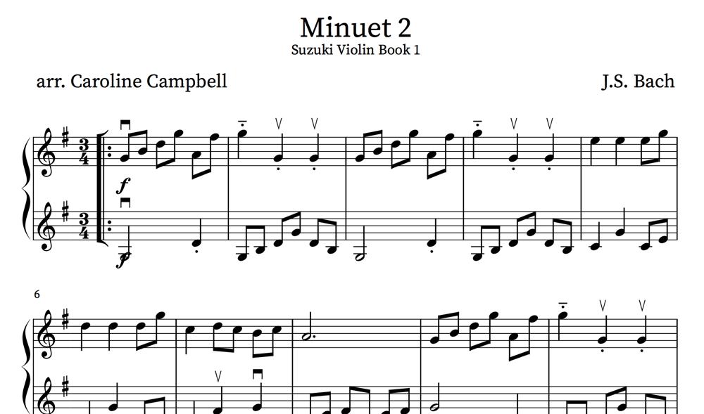 Image of Suzuki Violin Book 1 - Violin Duets