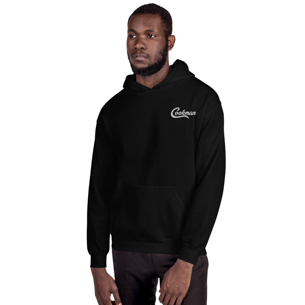 Image of Cookman Hoodie Embroider (Black)
