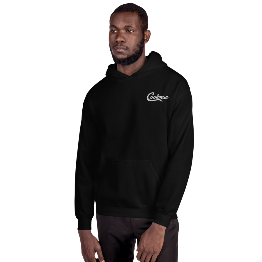 Image of Cookman Hoodie Embroider (Black)