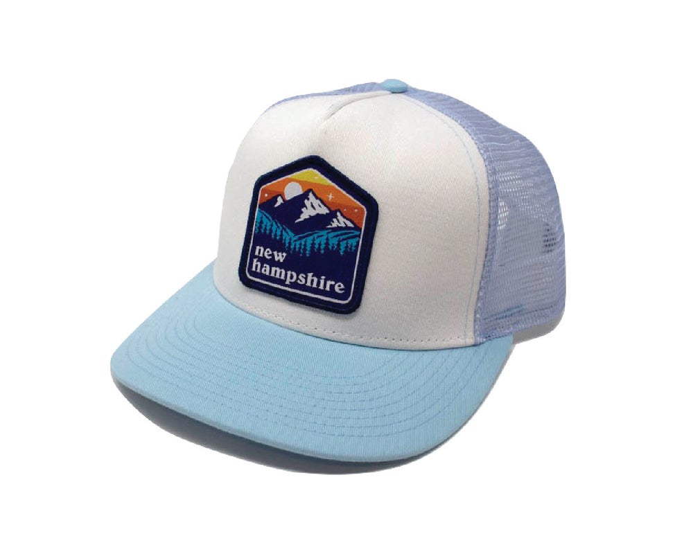 Image of NH Patch Cap- Carolina/White/Light Blue Mesh