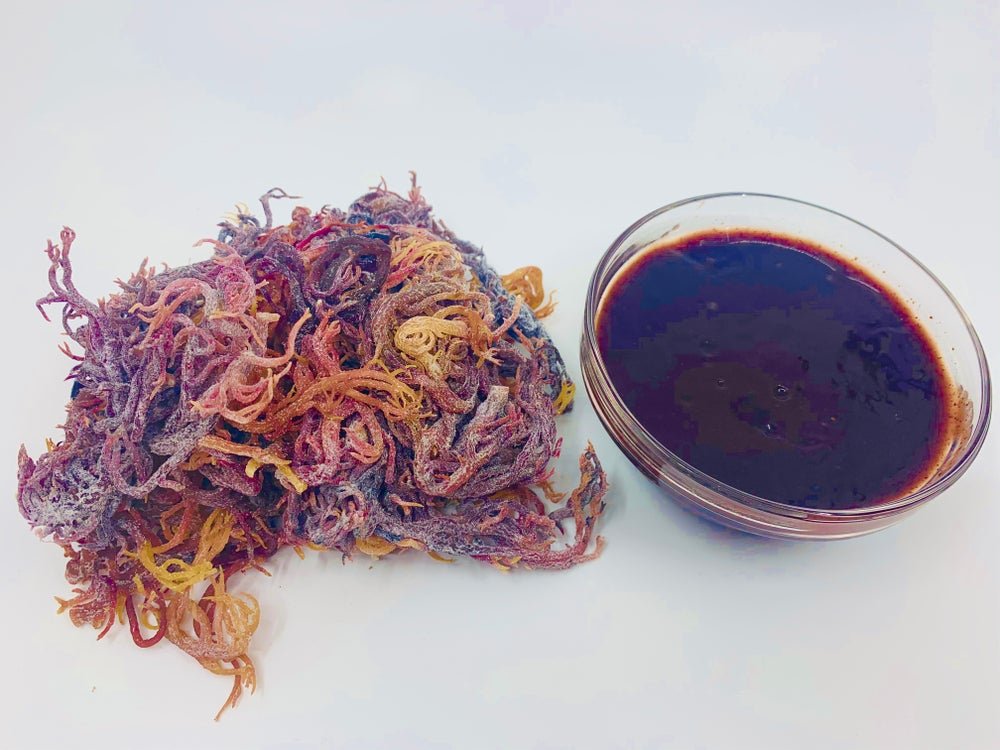Image of Rare Purple Sea Moss (High Quality) 1 LB