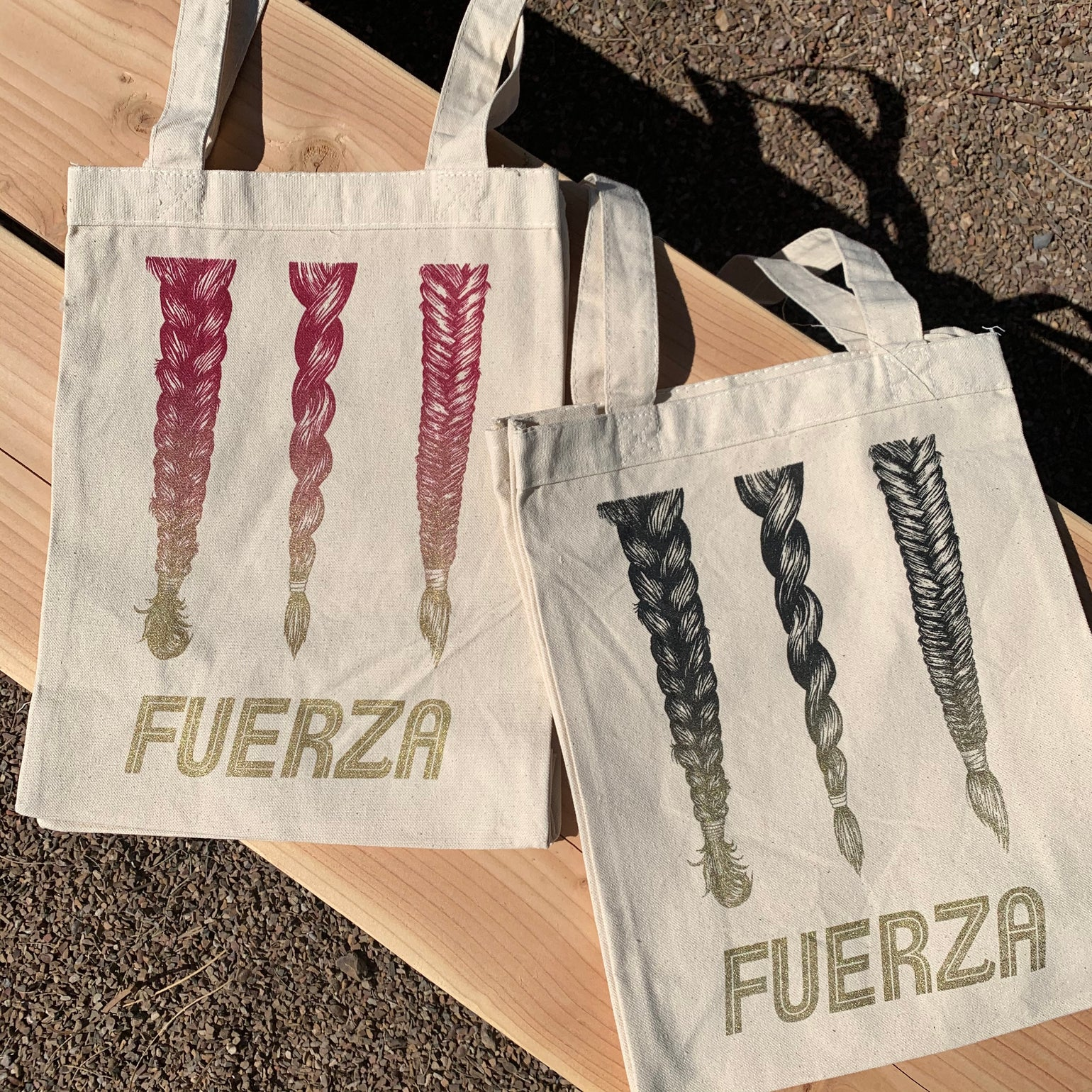 Image of Fuerza Canvas Tote Bag