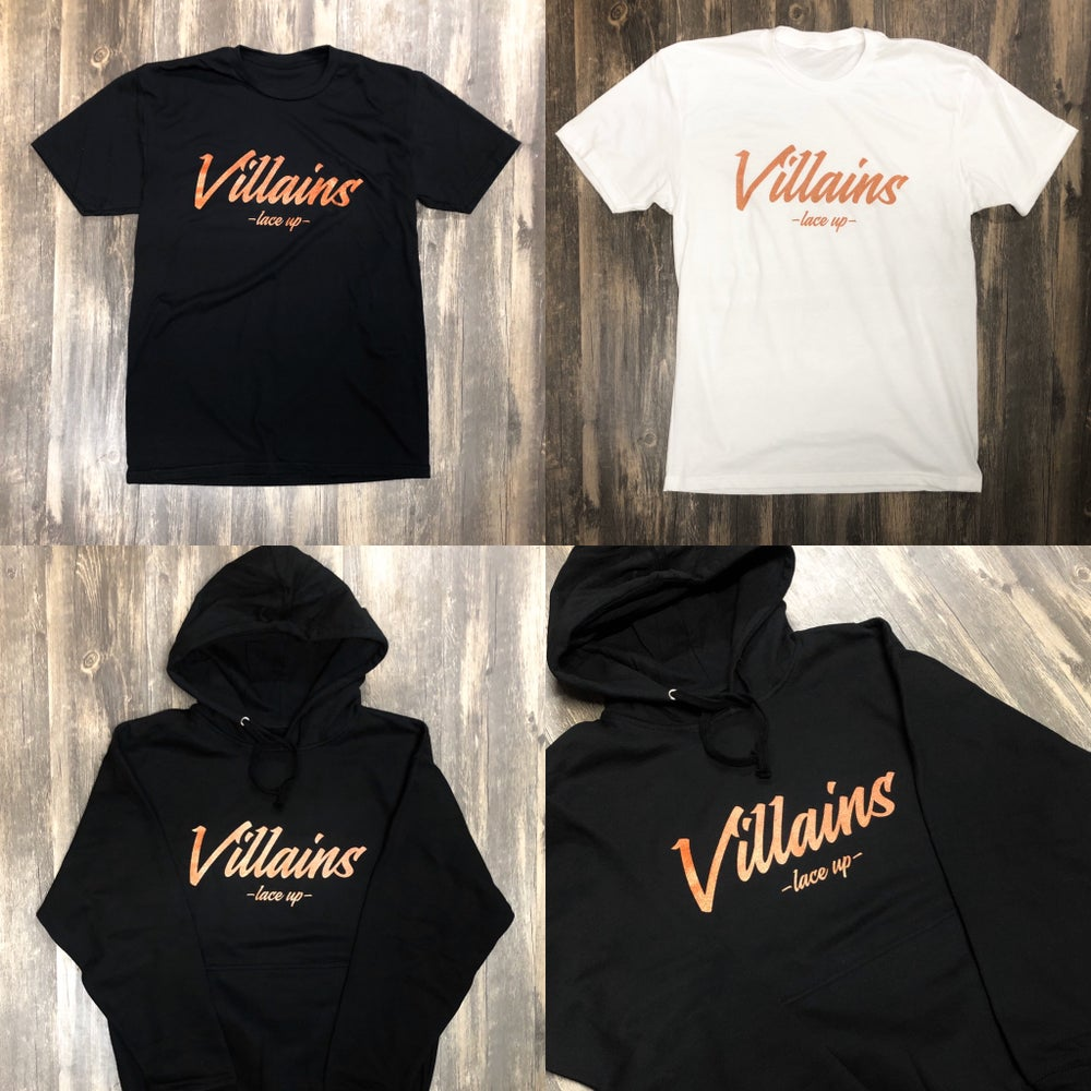 LIMITED EDITION VILLAINS LACE UP