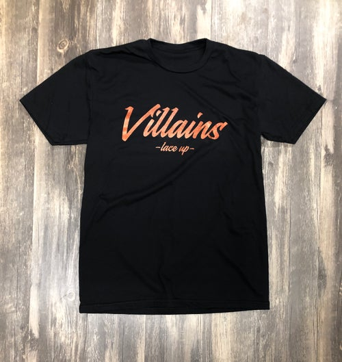 Image of LIMITED EDITION VILLAINS LACE UP