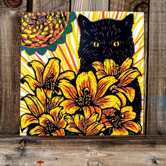 Image of Cat Art This