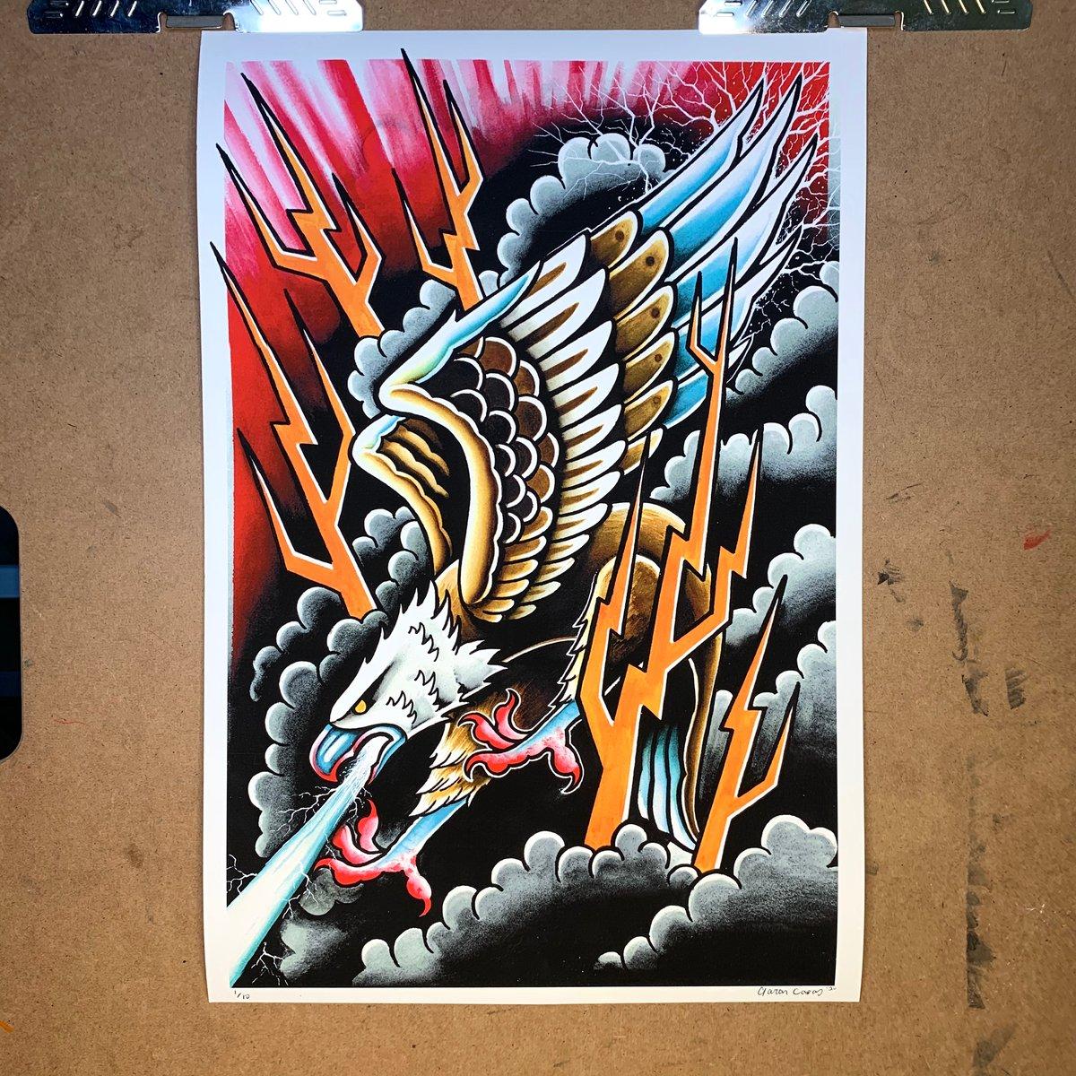 Thunder Eagle Print