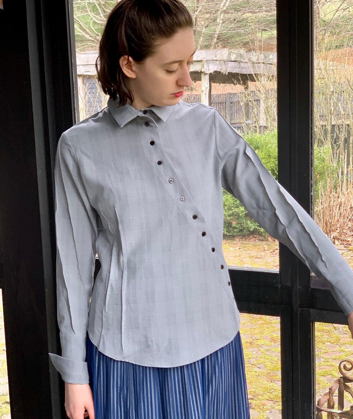 Image of Ken Okada Kenma Prince of Wales Shirt