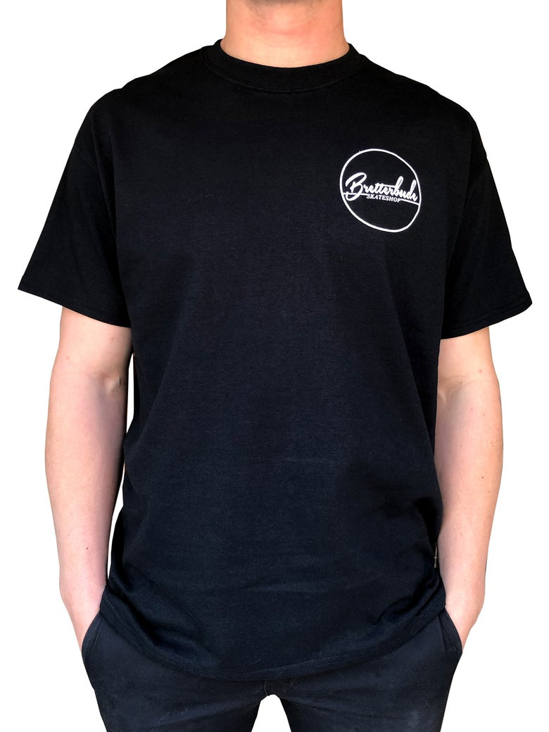 "Image of Bretterbude ""Logo"" Shirt (Black)"