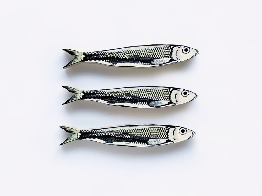 Image of Set of 3 Sardines
