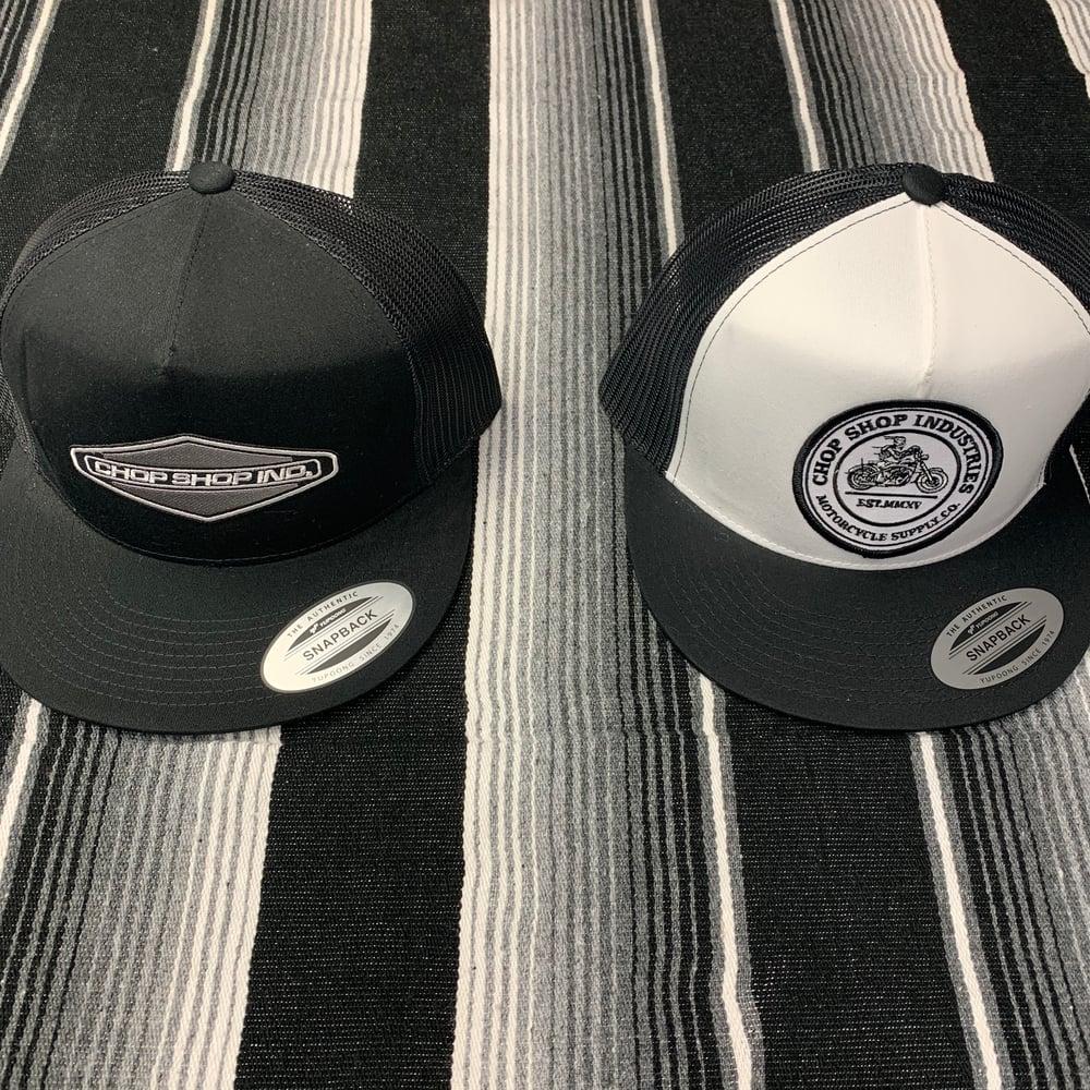 Image of Chop Shop Industries Snapback Hats