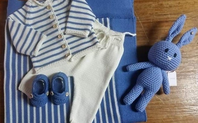 Conjunto de Nascimento em algodão