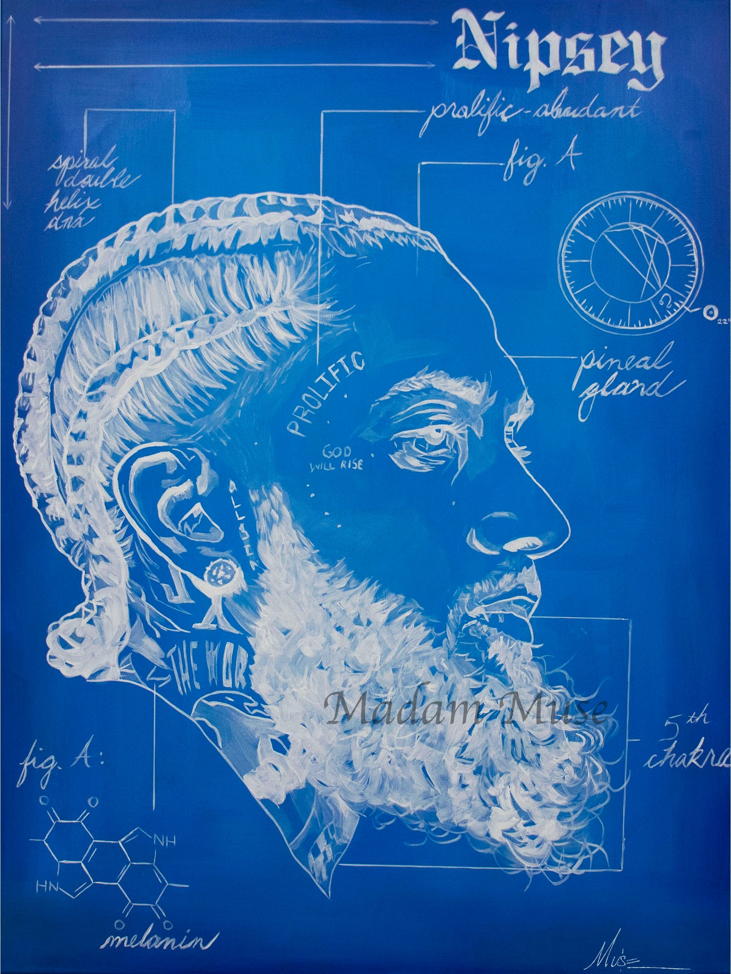 "Image of ""Prolific Prototype"" Blueprint Series Limited Edition Prints"