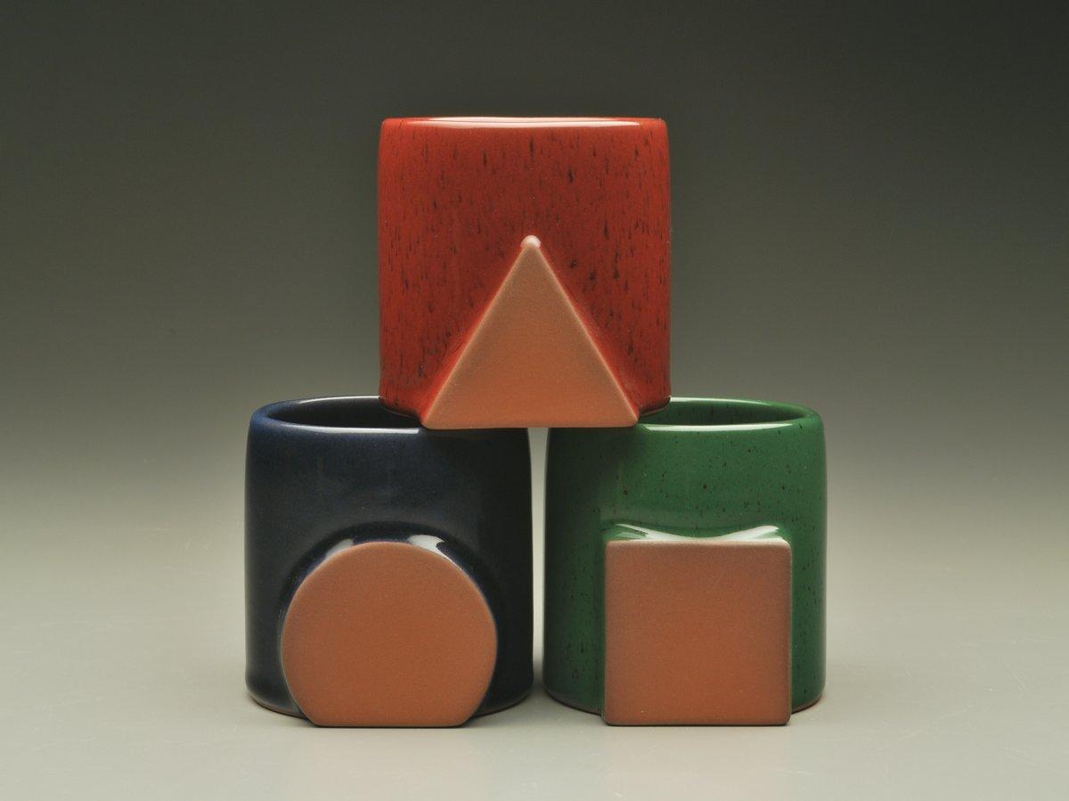 Image of Dark Glaze Gloss. These are Glaze Sample colors.