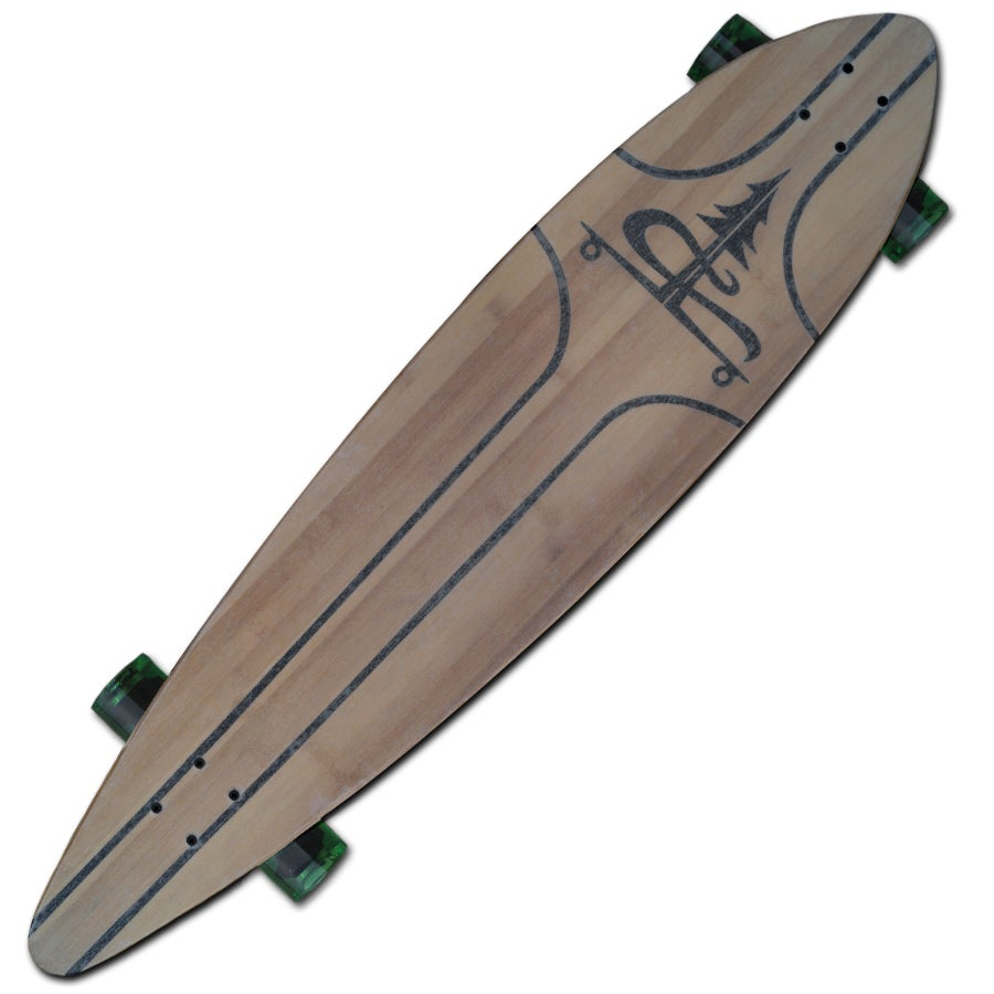 "Image of 44"" x 9.25"" Emerald Classic Pintail"