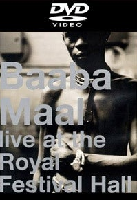 Image of Baaba Maal - Live at Royal Festival Hall (DVD)