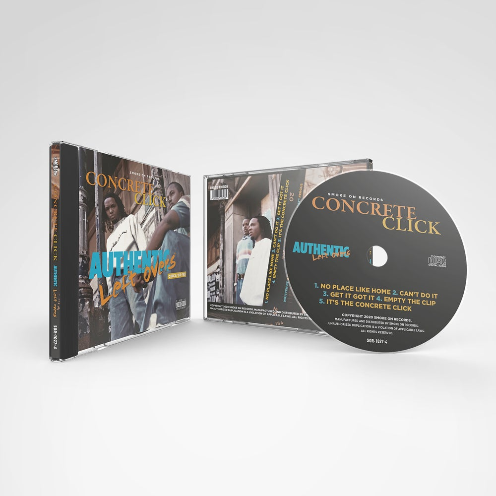 Image of Concrete Click ‎– Authentic Left Overs The EP CD
