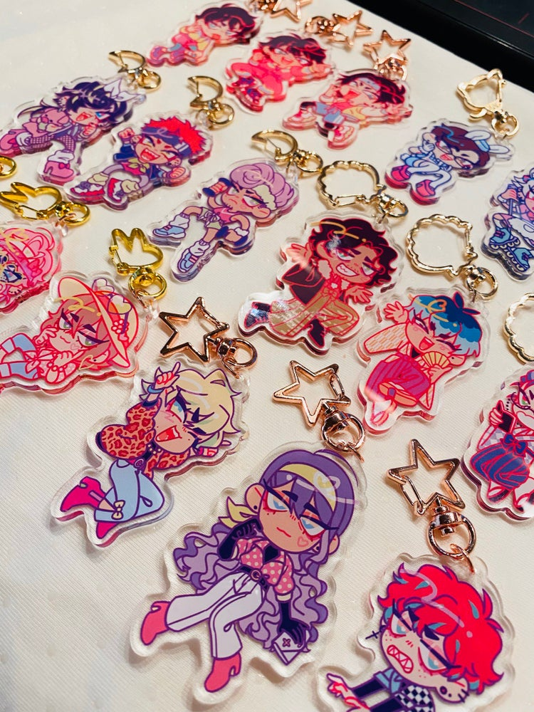 Image of Hypmic Retro charms