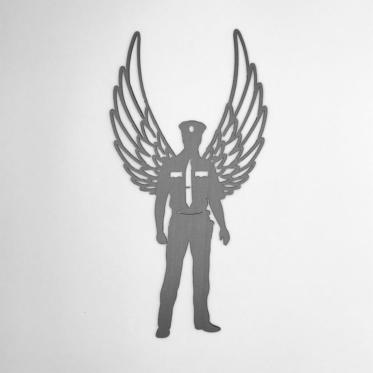 Police Angel Wings