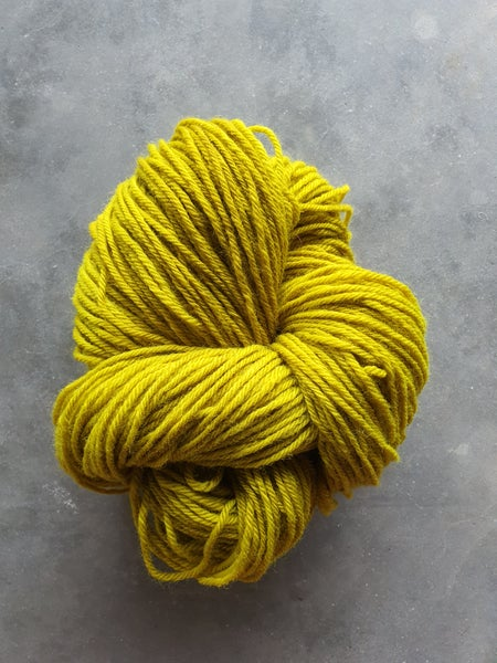 Image of Chartreuse wool
