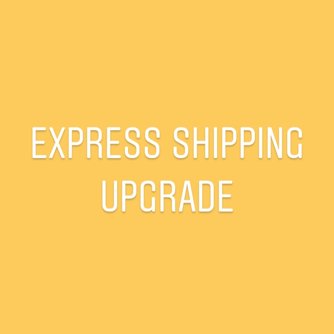 Image of Express Shipping Upgrade