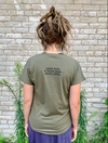 Army Green Women's Tee