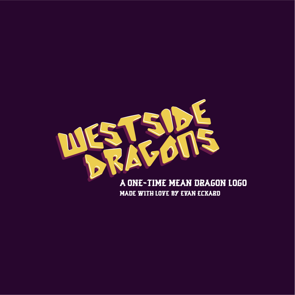 "Image of ""Westside Dragons"" One-time Sale Logo"