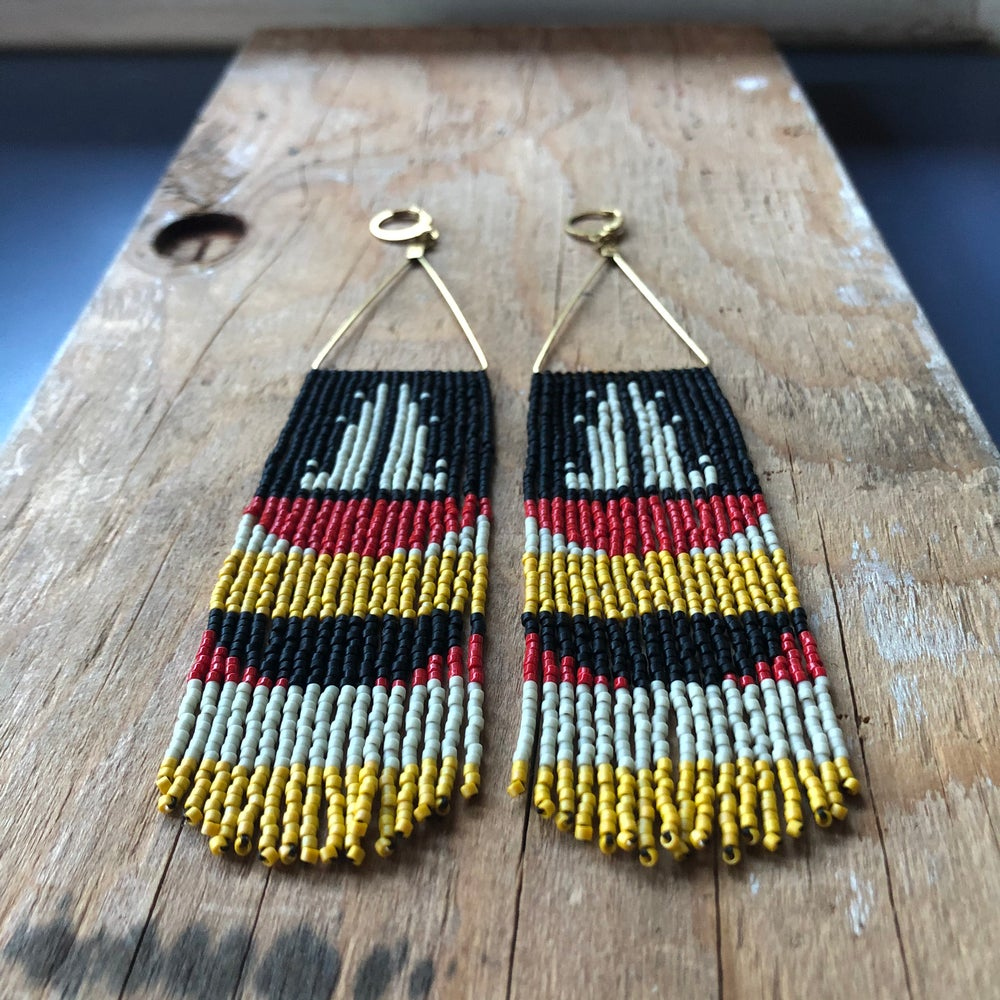 Image of The Lookout fringe earrings