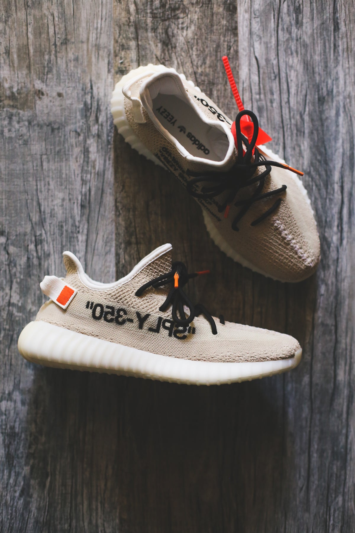 """Image of Yeezy """"OFF-WHITE"""" Inspired"""