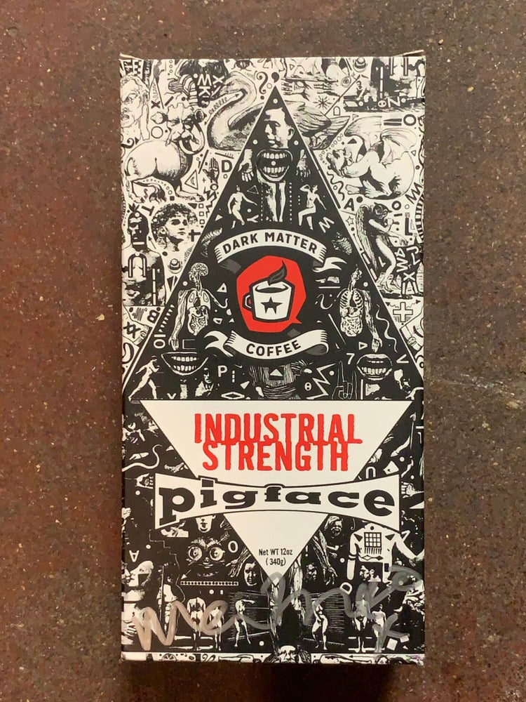 Image of Limited Edition Box of Pigface Industrial Strength Coffee
