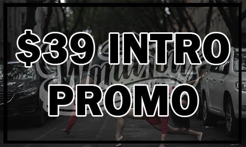 Image of $39 Promo, Unlimited 2 Weeks of Classes for First-Timers