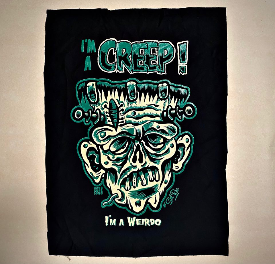 Image of I'm A Creep! Jacket Patch