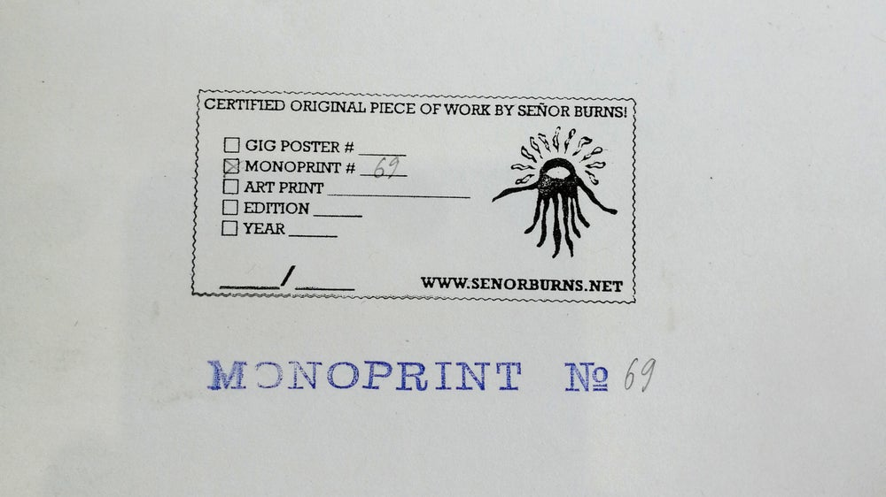 Image of MONOPRINT #69