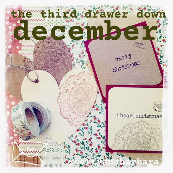 Image of third drawer down christmas edition