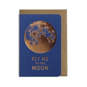 Image of CARTE DOUBLE MOON, LES ÉDITIONS DU PAON