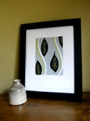 Image of Leaves - Silk Screen Print