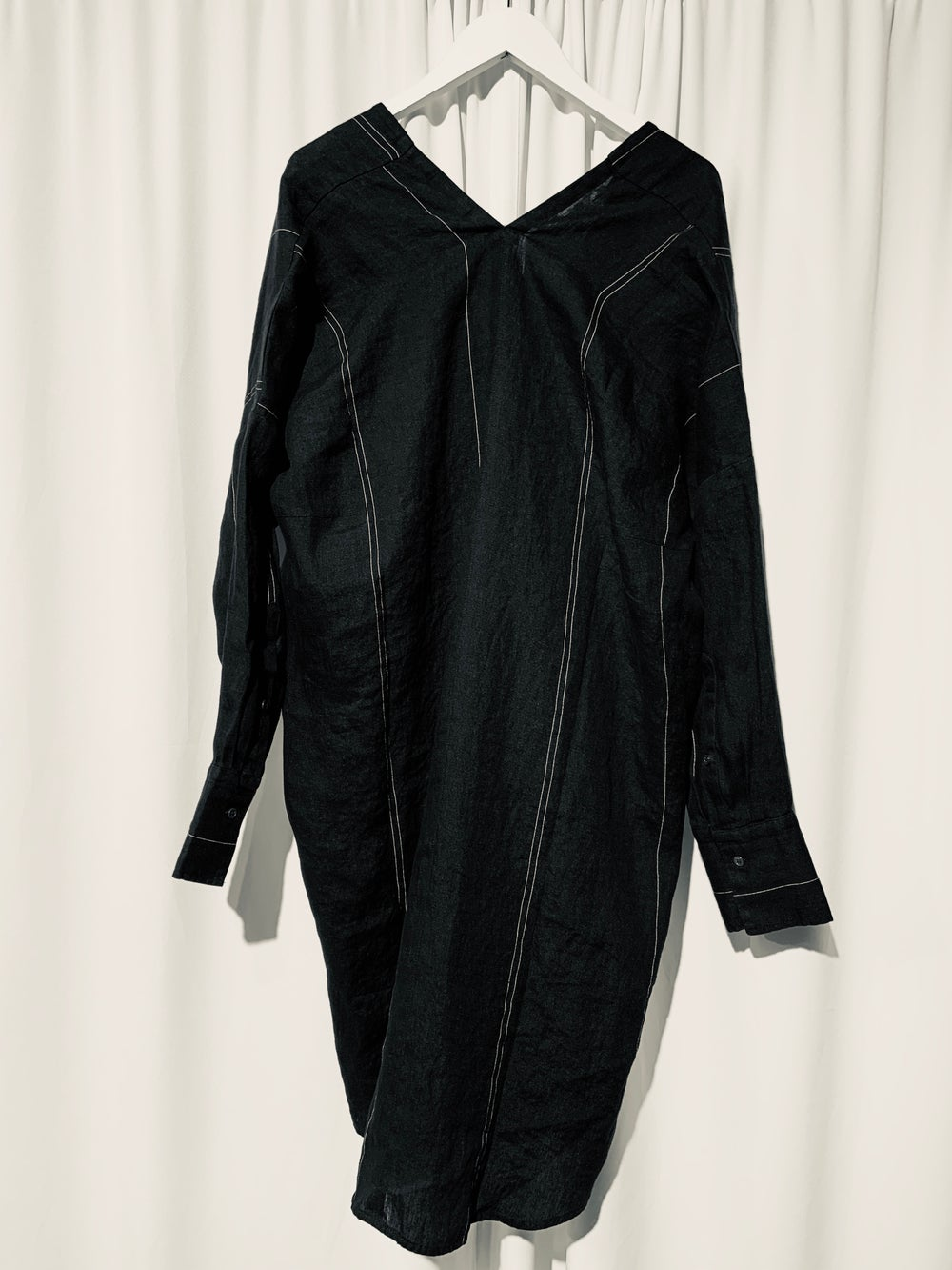 Image of NYGARDSANNA Long Shirt dress