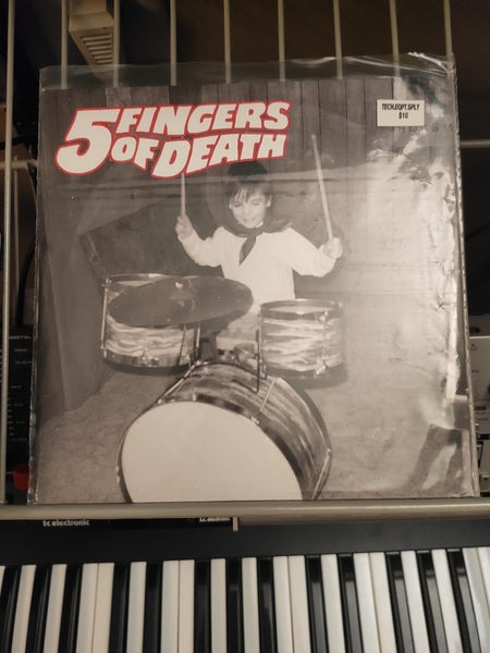 Image of Paul Nice ‎– 5 Fingers Of Death