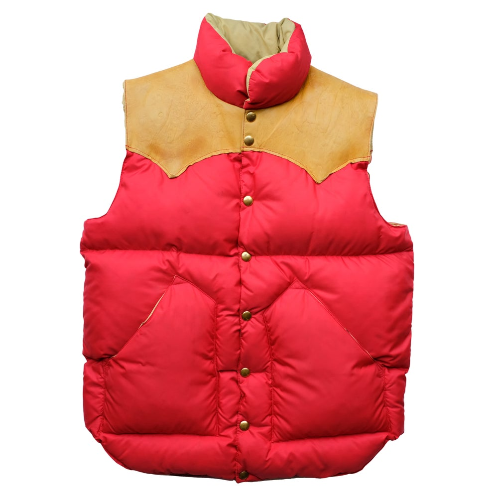 Image of Vintage 1970's Rocky Mountain Featherbed Down Vest