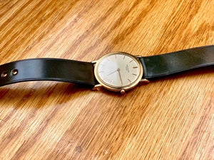 Image of Marble Horween Shell Cordovan strap - Limited Edition
