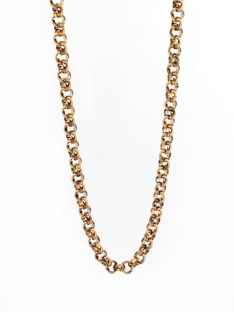 Image of Basic Chain Erbskette roségold