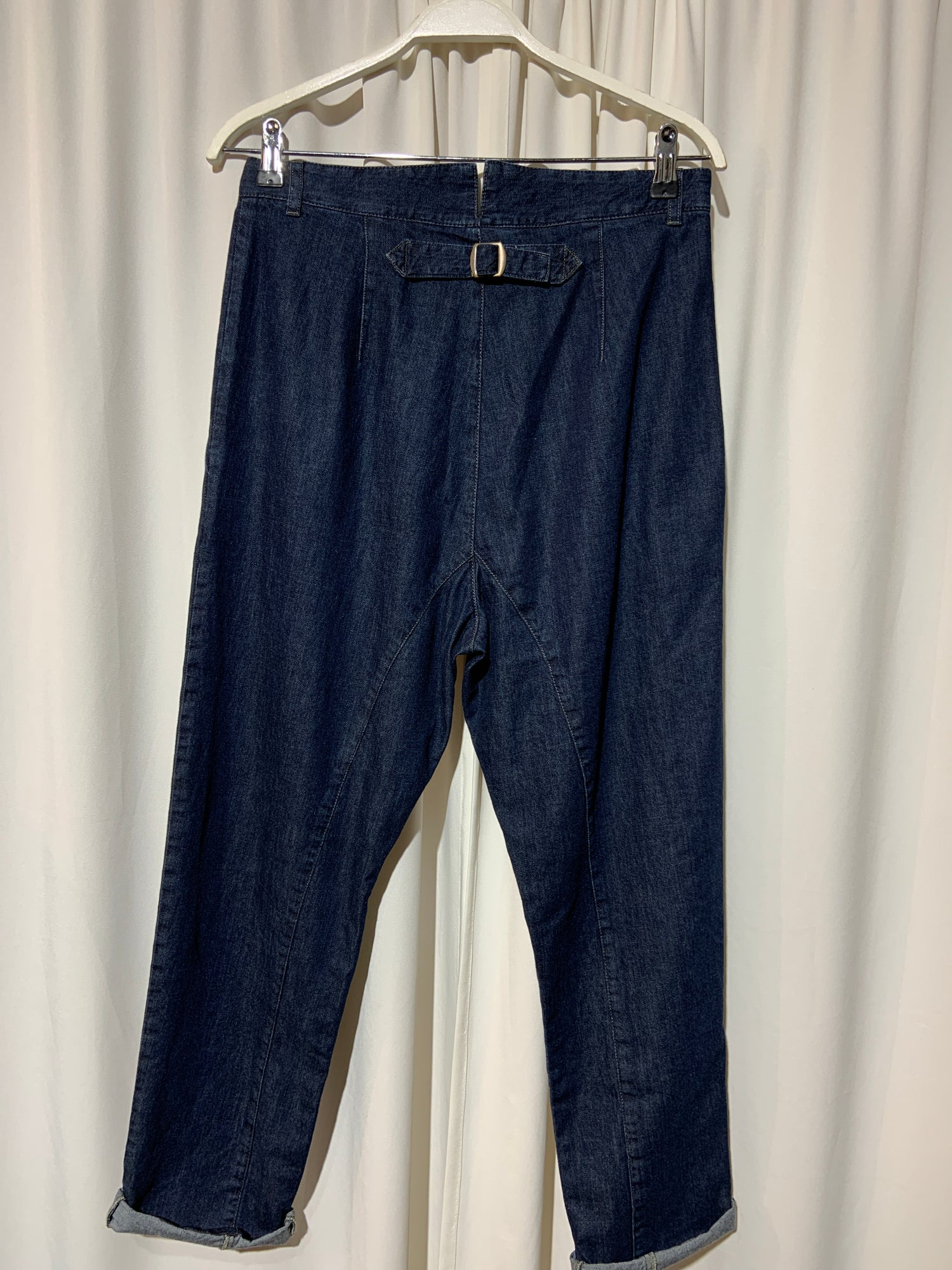 Image of NYGARDSANNA Buckle Back trousers