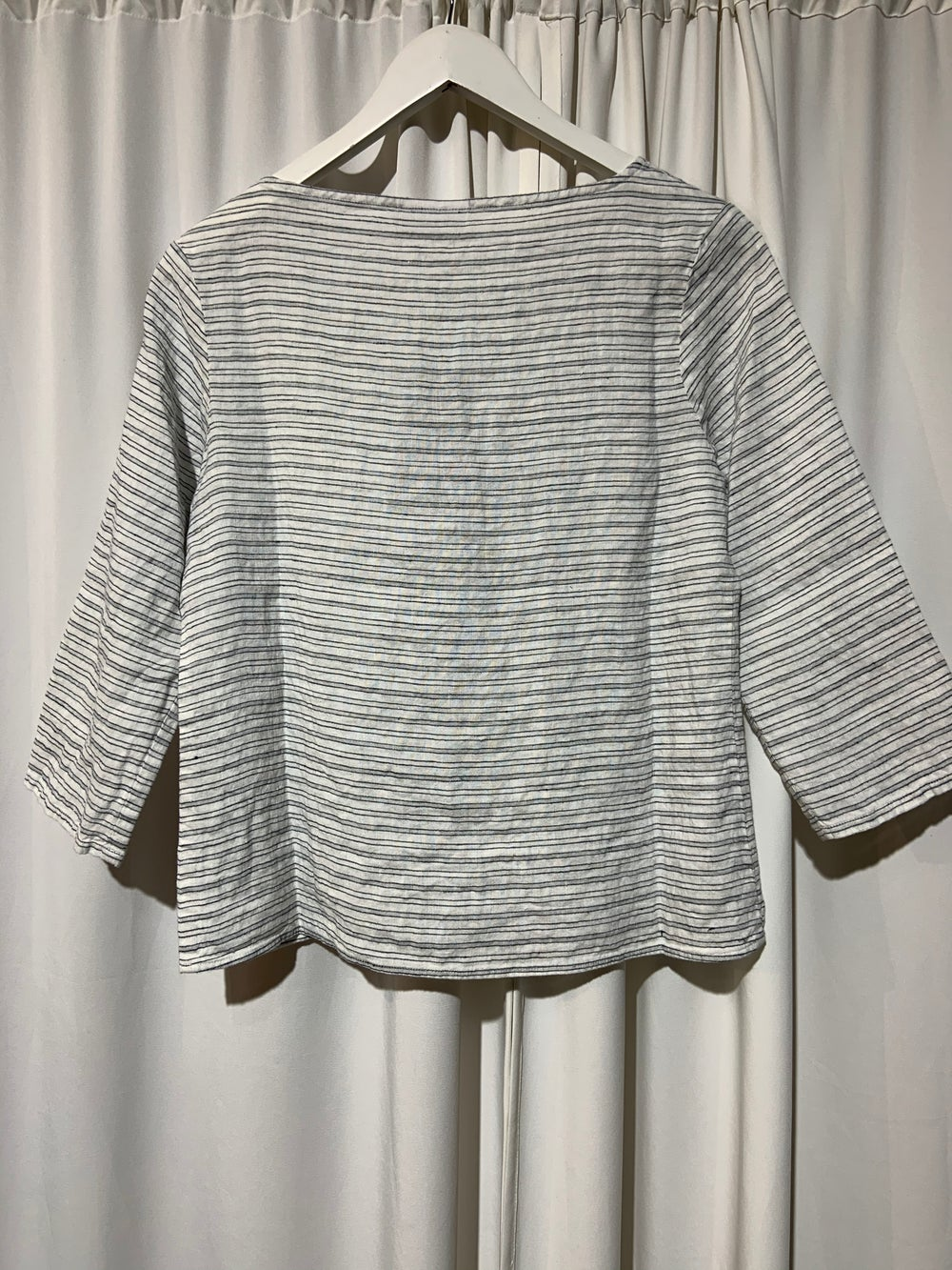 NygardsAnna blouse white stripes