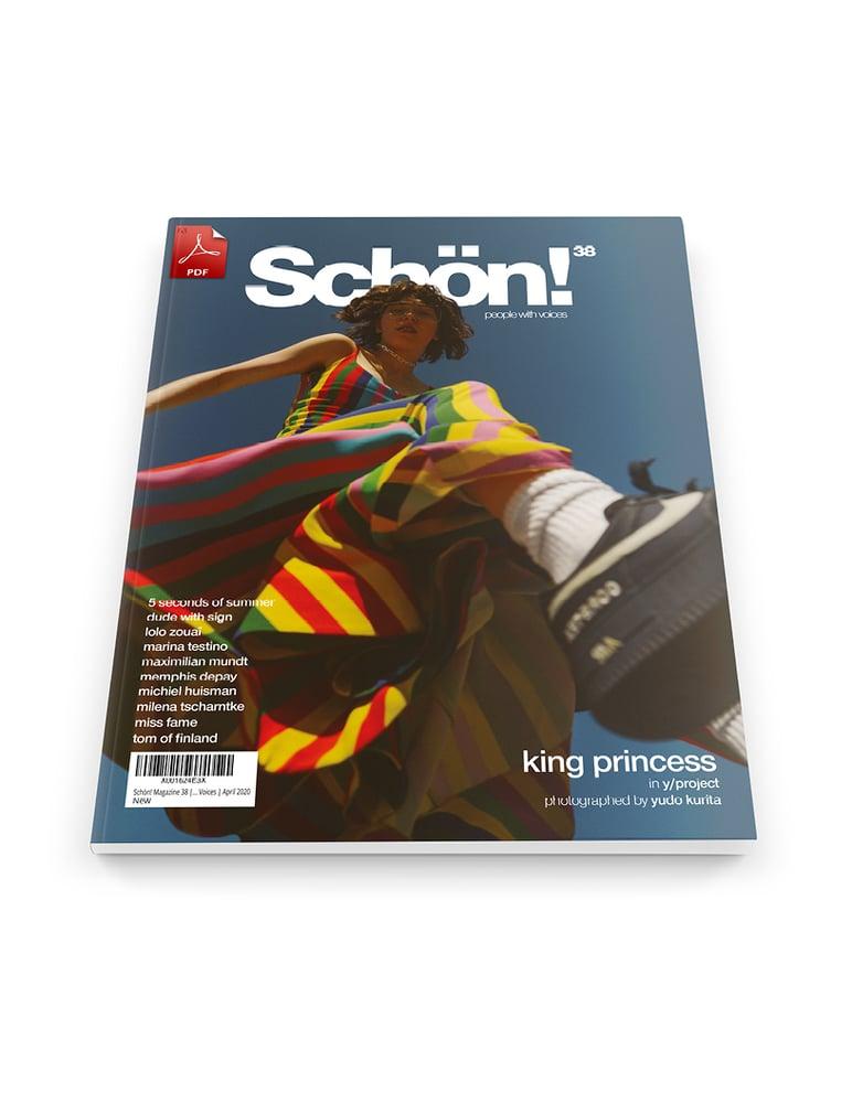 Image of Schön! 38 | King Princess by Yudo Kurita | eBook download