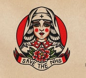 Image of Save the NHS print