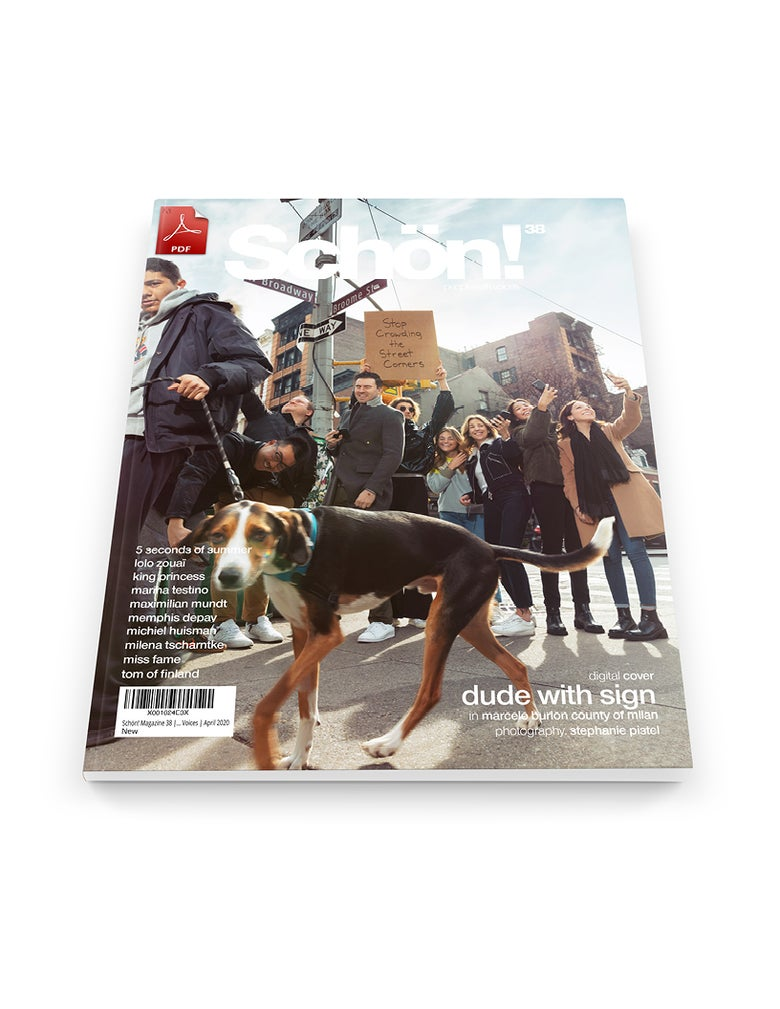 Image of Schön! 38 | Dude With Sign by Stephanie Pistel | eBook download