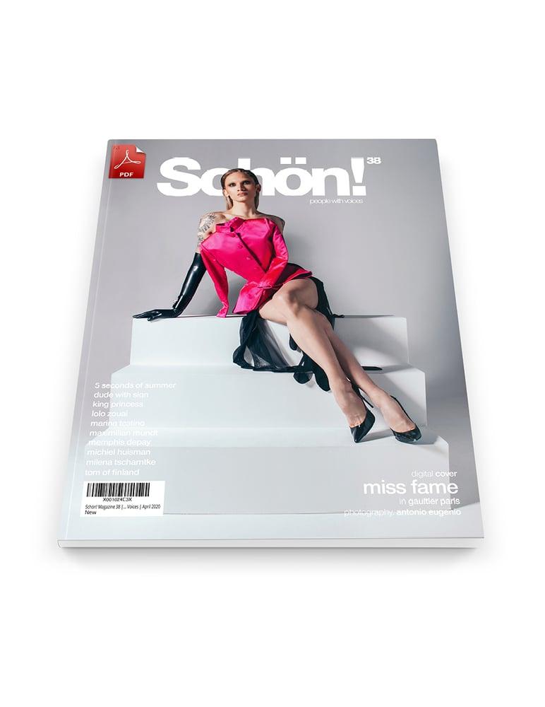 Image of Schön! 38 | Miss Fame by Antonio Eugenio | eBook download