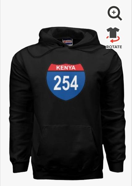 Image of 254 kenya black hoodie