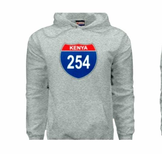 Image of 254 Kenya grey hoodie