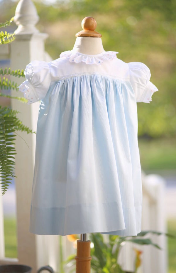 Image of 3T Swiss Hearts High Yoke Dress